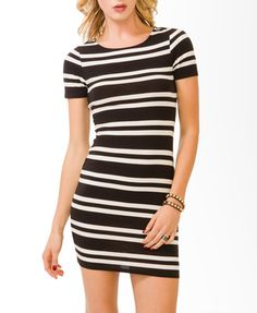 Striped Bodycon Dress | FOREVER 21 - 2000049547