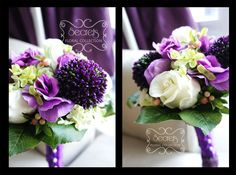 lilac and green bouquets - Google Search