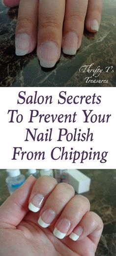 Shared from a nail tech, these salon secrets  to prevent your nail polish from chipping are tried and true tips and techniques that you can use at home.