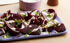 Beetroots with Balsamic Vinaigrette and Mint Recipe by Food Network Kitchens