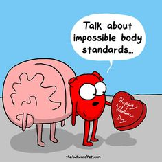ideas for funny comics hilarious humor awkward yeti Akward Yeti, The Awkward Yeti, Cute Comics, Funny Comics, Funny Cartoons, Happy Comics, Funny Love, The Funny, Heart And Brain Comic