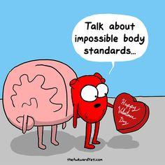 Valentine's Day Pressures. The Awkward Yeti comics