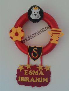 Keçe 4 Yıldız Galatasaray Kapı Süsü
