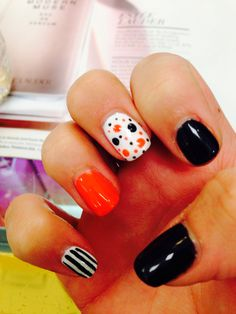 Love for Halloween, but makes me think all our yrs at FC , our nails should have looked like this :)