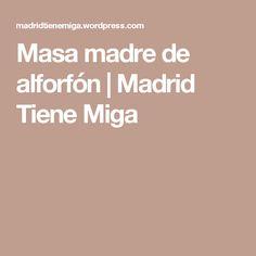 Masa madre de alforfón | Madrid Tiene Miga