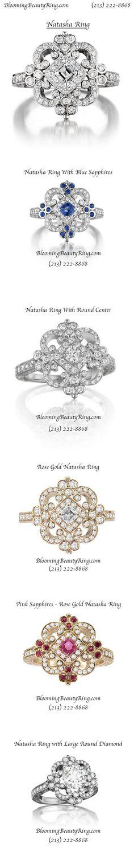 The #Natasha Ring   http://www.BloomingBeautyRing.com  (213) 222-8868