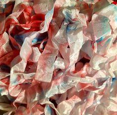 3 Girl JAM *New* Red, White, and Blue Crinkle Ribbon