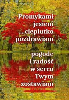 Ah ta jesien kolorowa I Love You, My Love, Humor, Autumn, Good Morning Funny, Pictures, Polish, L Love You, Fall