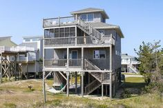 Avon Vacation Rentals | Gray Haven - Oceanfront Outer Banks Rental | 964 - Hatteras Rental