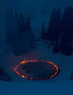 douglas gordon morgane tschiember set ring of fire ablaze # fashion trends .