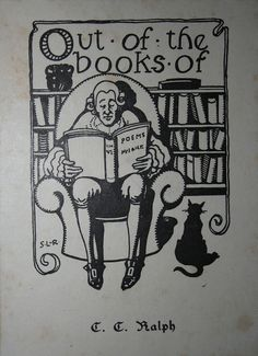 Ex Libris Ralph by Raoul's Photos, via Flickr