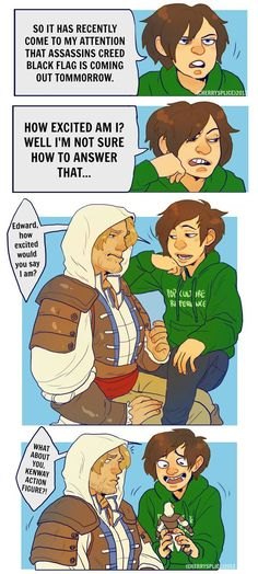 Fan art of one of my favorite video game series, Assassins Creed! Nothing is true, everything is hilarious~ (c) Assassins Creed : Ubisoft