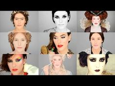In about six minutes, makeup artist Lisa Eldridge chronicles the best and laughably worst makeup trends from the past years. Makeup Trends, Beauty Trends, Makeup Inspo, Makeup Ideas, Make Up Looks, Face Paint Book, Strobing Make Up, Bad Makeup, Worst Makeup