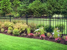 Aluminum Fence Denver residential, commercial, industrial.  Call Keng Fence at 720.431.0927 Denver Boulder Colorado