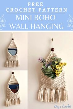 Crochet Wall Art, Crochet Wall Hangings, Diy Crochet Wall Hanging, Crochet Skull, Wall Hanging Crafts, Crochet Beanie, Crochet Lace, Crochet Decoration, Crochet Home Decor