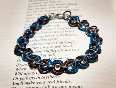 Hogwarts Collection Mobius Bracelet Ravenclaw by HowlOwl on Etsy. Harry Potter