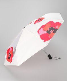 Look what I found on #zulily! Poppy Travel Umbrella by Vera #zulilyfinds