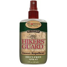 Woodstock Herbals Hikers Guard Insect Repellant Spray - the best DEET free spray for kids/ parents for summer!