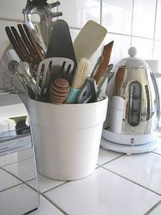 32 best Cooking Utensil Storage Containers images on Pinterest