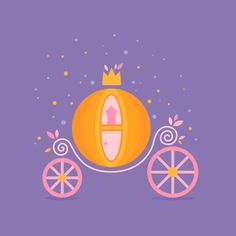 How to Create Cinderella's Pumpkin Carriage in Affinity Designer