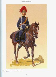 "German; 1st Royl Bavarian Field Artillery Regiment, ""Prinz-Regent Luitpold"". Leutnant. Raised 1824. Home Depot Munich. 1st  Royal Bavarian Army Corps"