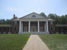 James Madison Montpelier estate near Orange, VA.  wem