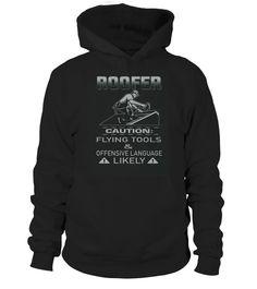 Roofer Caution shirt