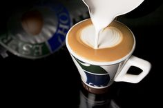 This is the way we want all our cortados to look, creamy, tasty and served with love!