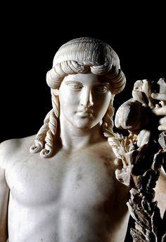 Apollo of Mantua. 2nd. century AD. marble.http://hadrian6.tumblr.com