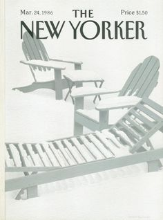 Gretchen Dow Simpson : Cover art for The New Yorker 3188 - 24 March 1986