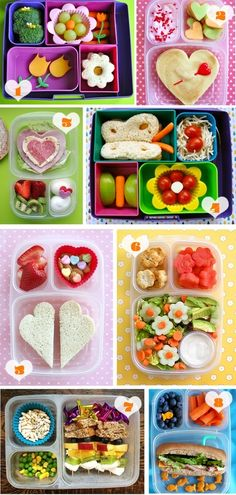 Liebevoll gestaltete Brotboxen Quick and Easy Healthy Lunch Ideas Healthy Lunch Ideas are the nice w Back To School Lunch Ideas, Healthy School Lunches, School Lunch Box, School Snacks, Work Lunches, Kindergarten Lunch, Boite A Lunch, Toddler Lunches, Toddler Food