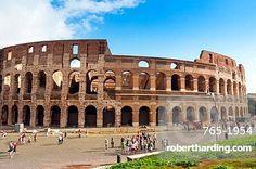 Colosseum or Flavian Amphitheatre, Rome, Unesco World Heritage Site, Latium, Italy, Europe