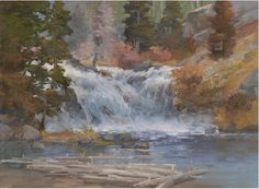 Try these brushstrokes for how to paint water behind trees, capture foamy water, paint water flowing over waterfalls, and more with this http://ArtistsNetwork.tv video preview from Johannes Vloothuis!