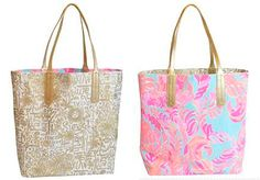 Lilly Pulitzer Reversible Tote Spring 2016