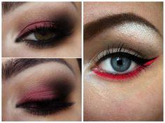 Maquiagem com sombra vermelha – Essa moda vai pegar