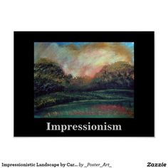 Impressionistic Landscape by Carole Tomlinson