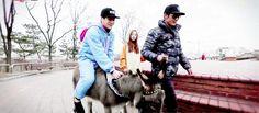 Donkey Jackson with his pet donkey, Michael  X'D