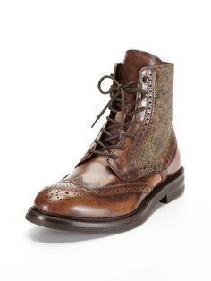 Wingtip Boots by Antonio Maurizi.