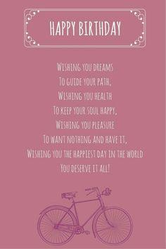 100 unique happy birthday my love quotes romantic wishes wishes that rime happy birthday poems m4hsunfo