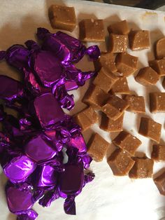 Salted Honey Caramels made in small batches with organic sugar, local honey, hormone-free dairy and house made vanilla. Like Lavender? Also available infused with local organic lavender! 805treats.com