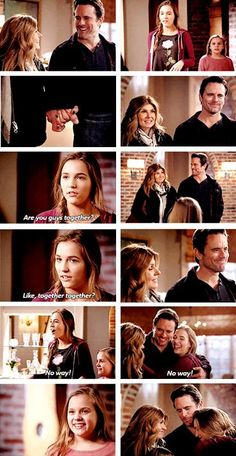 3x16 Rayna, Deacon, Maddie, and Daphne