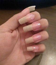 Clear Acrylic Nails, Acrylic Nails At Home, Long Natural Nails, Long Nails, Nail Growth, How To Grow Nails, Clean Nails, Dark Lips, Healthy Nails