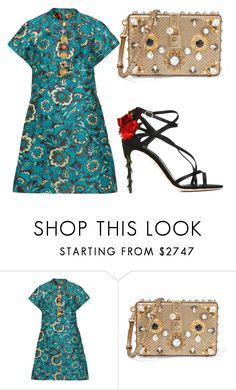 """""""Untitled #1202"""" by crinuut ❤ liked on Polyvore featuring Dolce&Gabbana"""