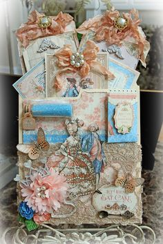 Marie Antoinette-Let Them Eat Cake Pocket Journal : Gallery : A Cherry On Top