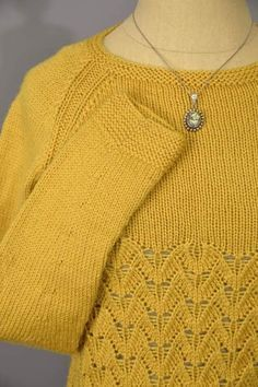 Free knitting pattern In Flight lace long sleeve pullover sweater knitting pattern and more pullover patterns at http://intheloopknitting.com/long-sleeve-pullover-sweater-knitting-patterns/