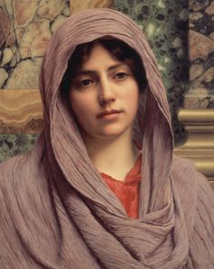 John William Godward (1861 - 1922) - Lycinna, 1918