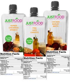 Just Food: Real Food Meals for Tube-Fed People  Just Food provides shelf-stable 100% real food meals for people with feeding tubes. No formula, no corn syrup, no additives. Just Food.