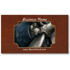 Plane - Pilot - Prop - You are clear to go Business Cards by suburbanscenes