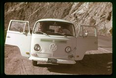 Vintage Vacation in a VW bus