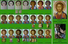 technical hagiography Byzantine Icons, Byzantine Art, Religious Icons, Religious Art, Writing Icon, Christ Pantocrator, Jesus Christus, Image Icon, Catholic Art
